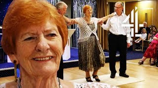 81-Year-Old Former Dancer Overcomes Fears And Dances Again! | Old People's Home for 4 Year Olds
