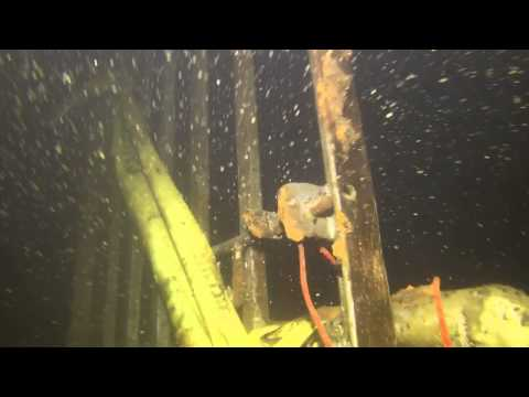 Scuba diving in a hydro dam tail race coteau creek s for Lake clementine fishing