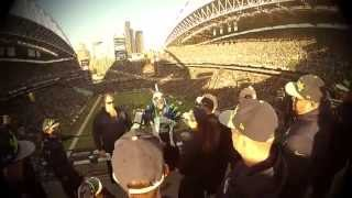 Seahawks Drumline | Blue Thunder | 12th man NOISE recognition!
