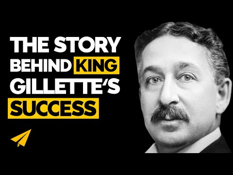 Make millions from your inventions - King Gillette success story