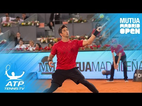 Raonic, Del Potro, Verdasco light up on the clay | Madrid 2018 Highlights Day 2