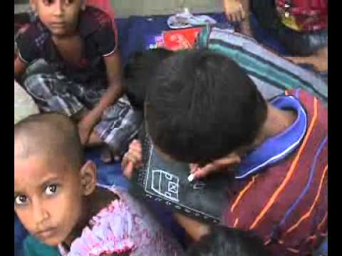 A Free School- School gives hope to poor Bangladesh Child-Xinhua News Agency Documentary