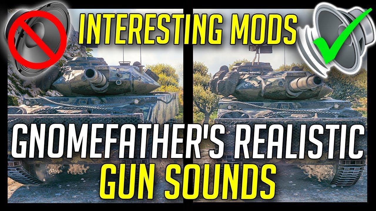 realistic gun sounds mod wot