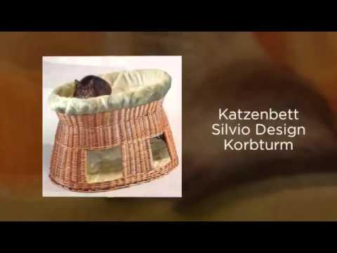 Katzenbett aufwendige Handarbeit aus Weidenflechtwerk