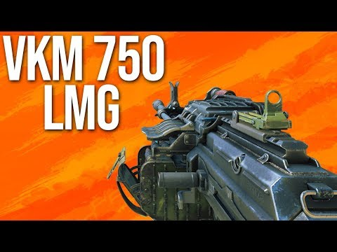 Black Ops 4 In Depth: VKM 750 LMG (& Fat Barrel Operator Mod)