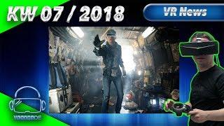 Virtual Reality News (Wochenrückblick KW07/18) [VR Games][VR Hardware][Vive][Rift][Pimax][WMR][PSVR]