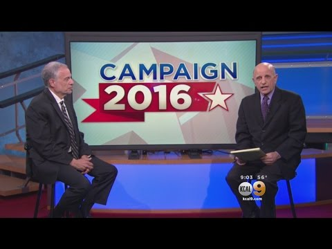 Election Analyst Talks With KCAL9 Political Editor Dave Brya