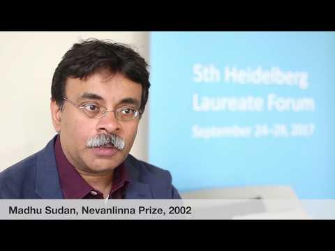 Laureate interviews at the 5th HLF: Madhu Sudan