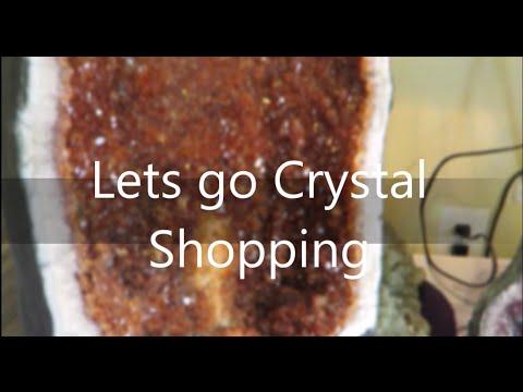 Vlog #2 Lets go Crystal Shopping | 12/6/15