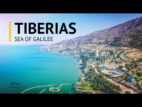Tiberias, Israel In 4K | The Sea Of Galilee (2020)