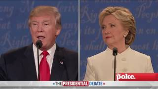 Presidential Debate Rap Battle: Trump Vs Clinton