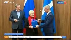 «Россия 1», Валерий Фадеев принял участие в церемонии вручения ключей от новых квартир в Ульяновской области