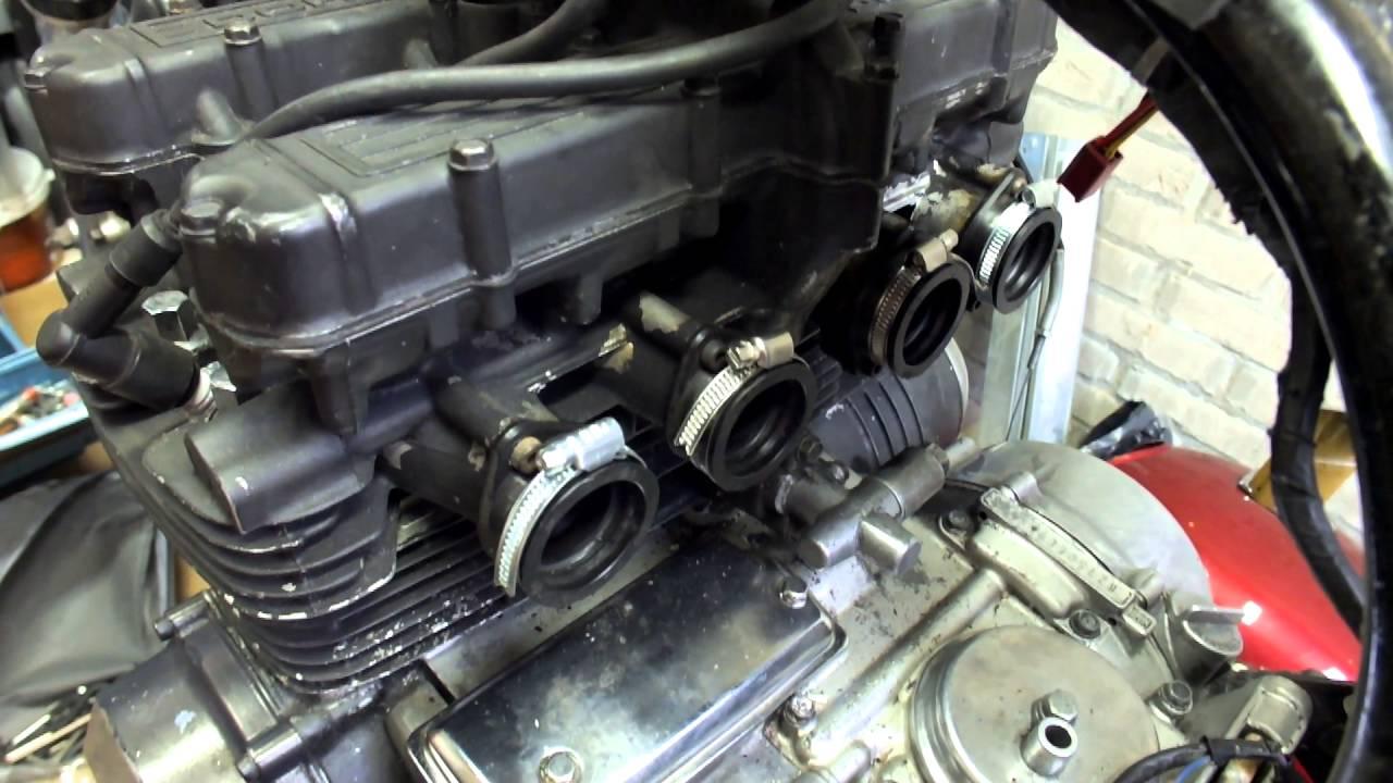 1982 Kawasaki KZ 750 L (Part 5 Carb Boot Repair)