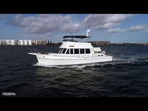 Grand Banks 47 Trawler [Drone]