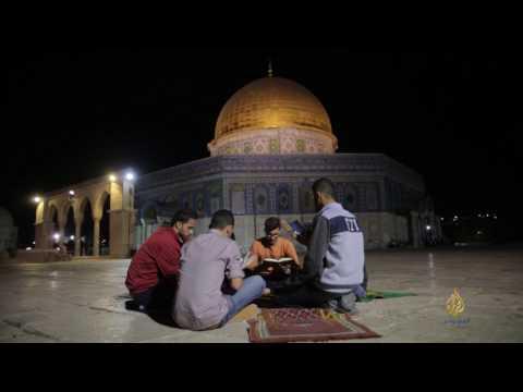 حكاية معتكف في المسجد الأقصى