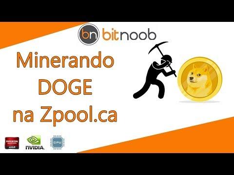 🛑[Zpool] Como Minerar DOGE - CPU Ou GPU AMD/Nvidia.