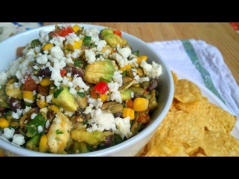 Cowboy Caviar - Texas Caviar - Easy Chip and Dip Recipe