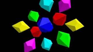12個のねじれ双五角錐(1)