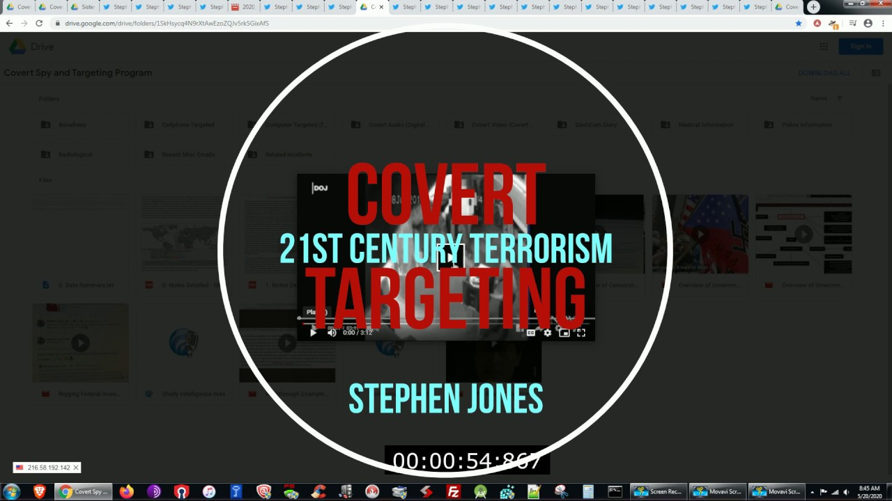 Best Covert Targeting Rundown - Buffalo NY 2020 - PATRIOT ACT ABUSE HIGHLIGHT REEL ONLY
