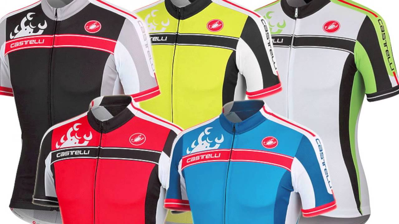 Castelli Cycling Jerseys Summer Men - YouTube 599dfd10a