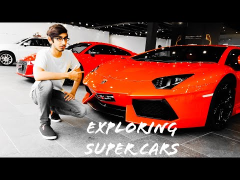 Exploring Super cars in BBT.❤️❤️