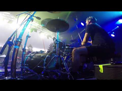 RHAPSODY REUNION -  Knightrider of Doom Live at Nummirock 2017 (Holzy Drum-Cam)
