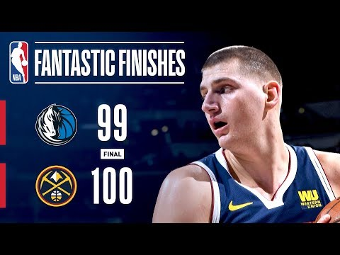 CLUTCH Moments Down The Stretch Between The Mavericks & Nuggets | March 14, 2019 thumbnail