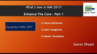 Whats New in Microsoft Dynamics NAV 2017 - Part 1