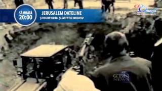 TRAILER: Jerusalem Dateline 100 - sambata 31 octombrie 2015, ora 20, la Alfa Omega TV