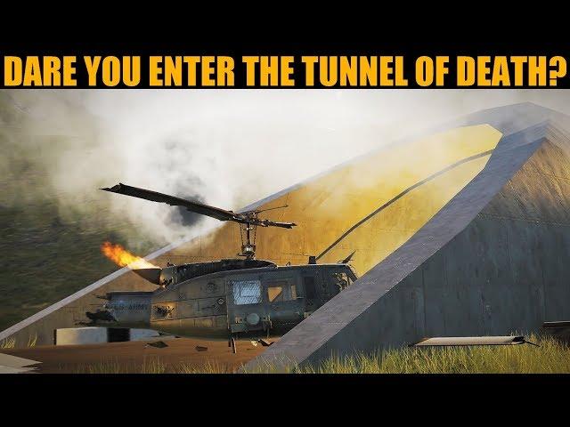 26 Minutes Of BEAUTIFUL Tunnel Run Testing | DCS WORLD