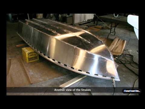Building A 12 Foot Aluminum Fishing Skiff From A Kit