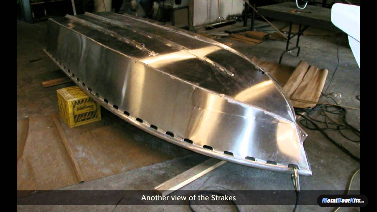 Building a 12 Foot Aluminum Fishing Skiff From a Kit - YouTube