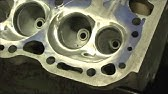 Unshrouding Chevy Small Block Combustion Chambers for 2 02