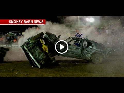Demolition Derby 2016 Video Highlights Robertson County Tennessee