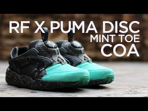 Closer Look: Ronnie Fieg x Puma Disc Blaze OG