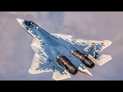 Su-57 In Action