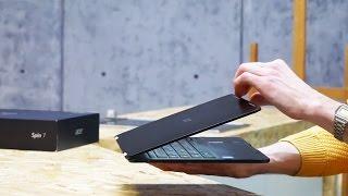 Обзор Acer Spin 7: самый тонкий гибрид
