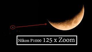 EPIC ZOOM MOON |COOLPIX NIKON P1000 | TEST EXTREME