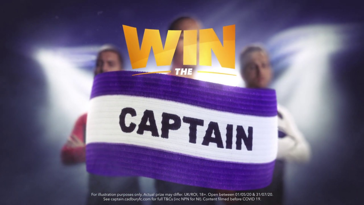 Cadbury Win the Captain | Spend the day with one of footballs finest | Virgil van Dijk - UKI