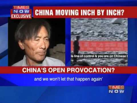 China eating into Indian territory?