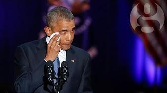 Barack Obama's final speech as president – video highlights