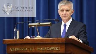 """Prof. Marek Belka, """"Czy banki centralne uratowały świat przed wielką depresją 2.0?"""""""