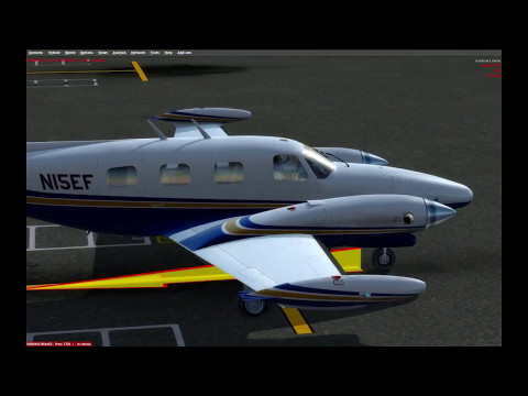 [P3D] Leg 5. Caribbean Tour. Antigua to Martinique in Carenado Piper PA-31T
