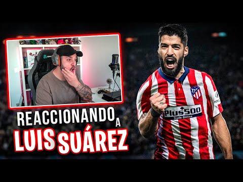REACCIONANDO a LUIS SUÁREZ, NUEVO FICHAJE GRATIS del ATLETICO de MADRID!!