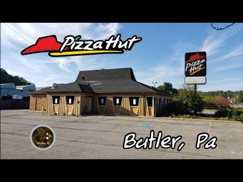 Closed Due To A Fire - Pizza Hut In Butler, Pa
