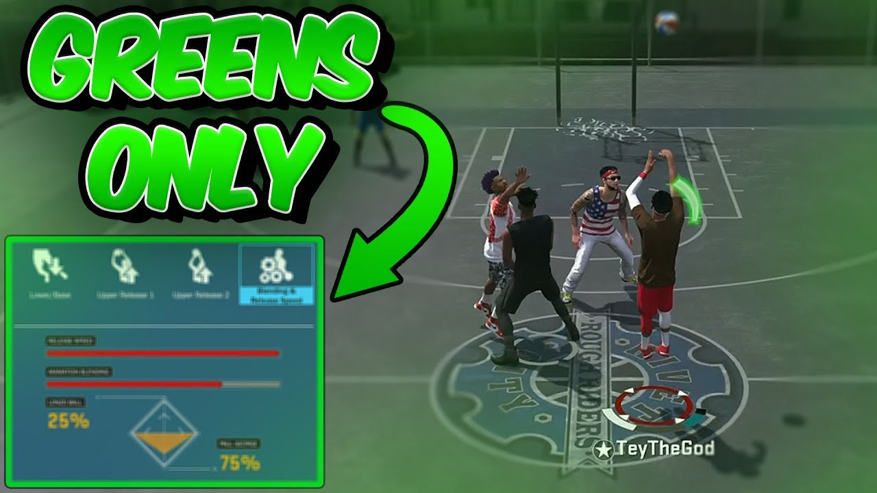 USE THIS JUMPSHOT BEFORE ITS PATCHED!! BEST CUSTOM JUMPSHOT GREEN RELEASE NBA 2K18