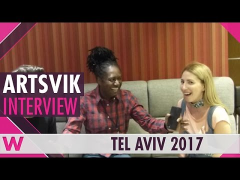 Artsvik (Armenia 2017) Interview | Israel Calling 2017