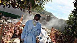 видео Миротворцы занесли холеру на Гаити