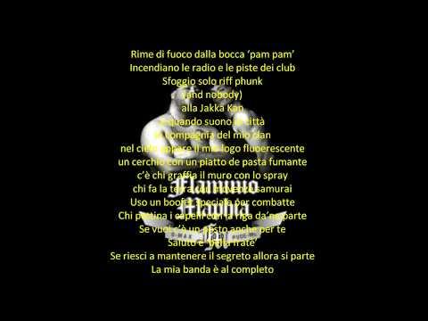 La Mia Banda Suona Il Rap - Max Pezzali & Flaminio Maphia (Lyrics)
