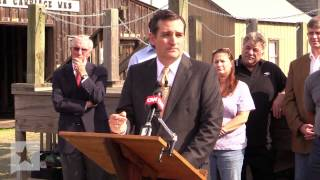 Ted Cruz Talks Jobs and Energy